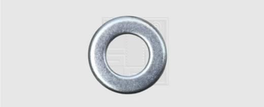 Unterlegscheibe Innen-Durchmesser: 10.5 mm M10 DIN 125 Stahl verzinkt 100 St. SWG