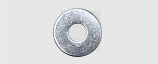 Unterlegscheibe Innen-Durchmesser: 10.5 mm M10 DIN 9021 Stahl verzinkt 100 St. SWG