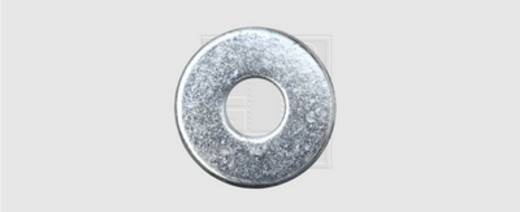 Unterlegscheibe Innen-Durchmesser: 5.3 mm M5 DIN 9021 Stahl verzinkt 100 St. SWG