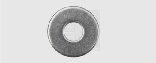 Unterlegscheibe Innen-Durchmesser: 10.5 mm M10 DIN 9021 Edelstahl A2 25 St. SWG