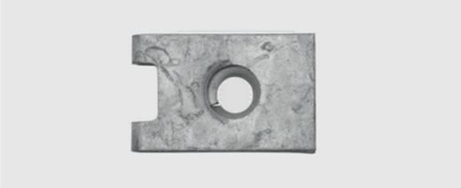 Blechmutter 3.9 mm Federstahl verzinkt 100 St. SWG 500 113 46 25