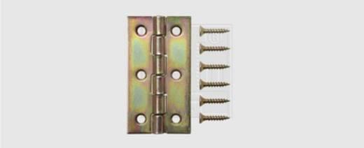 SWG Gerollte Scharniere schmal 80 X 41 X 1,5 Stahl verzinkt 80 mm 1 St.