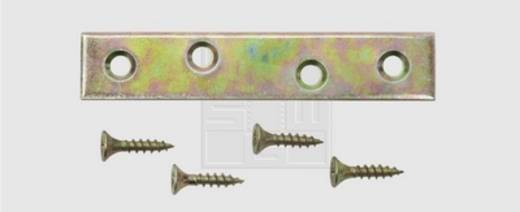 SWG Verbindungsbleche 80 X 15 X 1,5 Stahl verzinkt 80 mm 1 St.