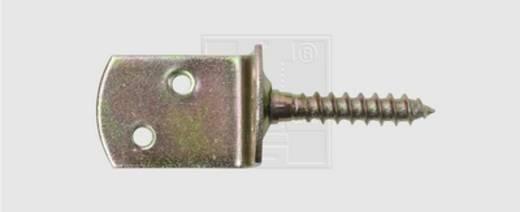 SWG Flechtzaunbeschläge 30 X 28 X 38 Stahl verzinkt 30 mm 10 St.