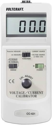 VOLTCRAFT CC-421 Kalibrator Strom, Spannung Kalibriert nach Werksstandard (ohne Zertifikat)