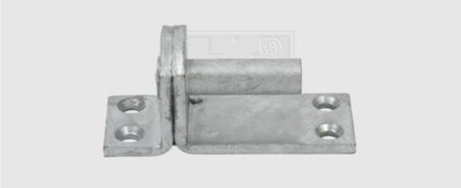 SWG Kloben auf Platte Form I 16 mm Stahl feuerverzinkt 1 St.