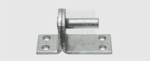 SWG Kloben auf Platte Form II 16 mm Stahl feuerverzinkt 1 St.