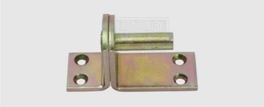 SWG Kloben auf Platte Form II 10 mm Stahl verzinkt 1 St.