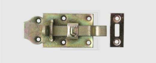 SWG Schlossriegel gekröpft mit Schlaufe 100 mm Stahl verzinkt 100 mm 1 St.