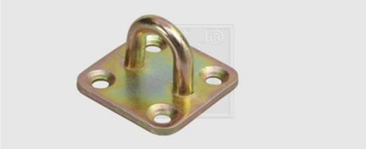 SWG Krampen auf Platte für Überfallen Stahl verzinkt 1 St.