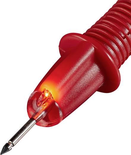VOLTCRAFT TL-1 Sicherheits-Messleitungs-Set [Lamellenstecker 4 mm - Prüfspitze] 1 m Schwarz, Rot