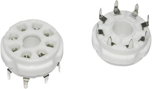 Röhrenfassung 1 St. 120537 Polzahl: 8 Sockel: Oktal Montageart: Print Material:Keramik