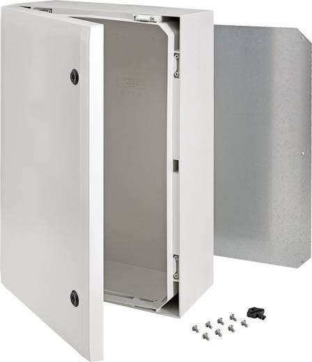 Wand-Gehäuse, Installations-Gehäuse 600 x 400 x 210 Polycarbonat Grau Fibox ARCA 8120012 1 St.