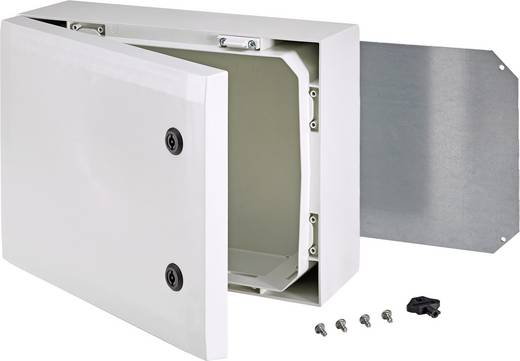 Wand-Gehäuse, Installations-Gehäuse 300 x 400 x 150 Polycarbonat Grau Fibox ARCA 8120022 1 St.
