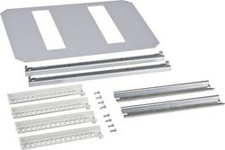 Cadre de montage 1 rangée Fibox 8120793 acier gris (L x l) 300 mm x 400 mm 1 pc(s)
