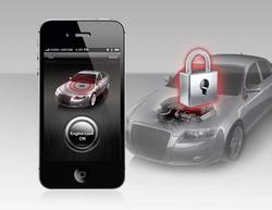 Auto alarm pro iOs a Android Smart Engine Lock, 12 V, A881