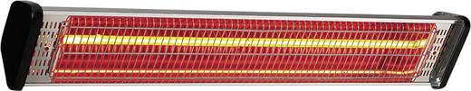IR-Strahler 1800 W 10 m² Silber, Schwarz CasaFan Infrarotheizstrahler CasaTherm S1800 Gold