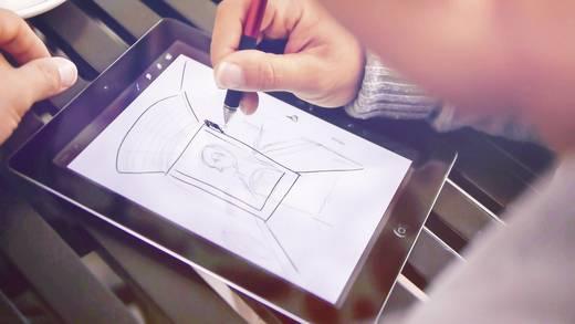 Adonit Jot Pro Touchpen mit präziser Schreibspitze Rot