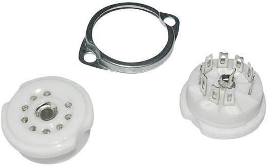 Röhrenfassung 1 St. 120561 Polzahl: 9 Sockel: Noval Montageart: Chassis Material:Keramik