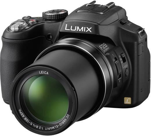 Digitalkamera Panasonic Lumix DMC-FZ200 12.1 Mio. Pixel Opt. Zoom: 24 x Schwarz Full HD Video, Dreh-/schwenkbares Displ