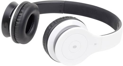 Bluetooth® Stereo-Headset Gembird BHP-BER On Ear Headset Weiß