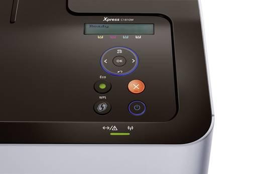 Samsung Xpress C1810W Farblaserdrucker A4 18 S./min 18 S./min 9600 x 600 dpi LAN, WLAN, NFC