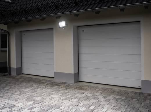 LED-Außenstrahler mit Bewegungsmelder 50 W Kalt-Weiß TL-F50CW-P Schwarz