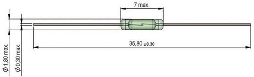 StandexMeder Electronics KSK-1A80-2030 Reed-Kontakt 1 Schließer 170 V/DC, 170 V/AC 0.5 A 10 W Glaskolbenlänge:7 mm