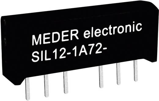 Reed-Relais 1 Schließer 12 V/DC 1 A 15 W SIL-4 StandexMeder Electronics SIL12-1A72-71L