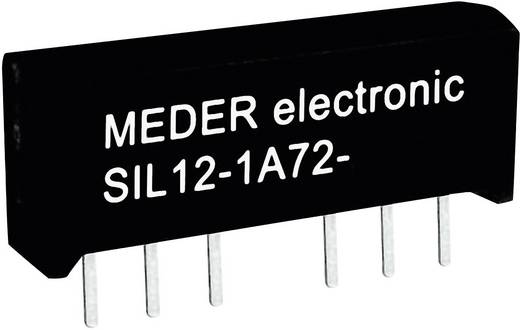 Reed-Relais 1 Schließer 24 V/DC 1 A 15 W SIL-4 StandexMeder Electronics SIL24-1A72-71L