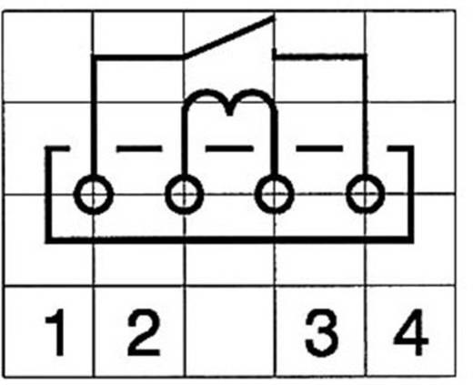 Reed-Relais 1 Schließer 5 V/DC 0.5 A 10 W SIP-4 StandexMeder Electronics MS05-1A87-75LHR
