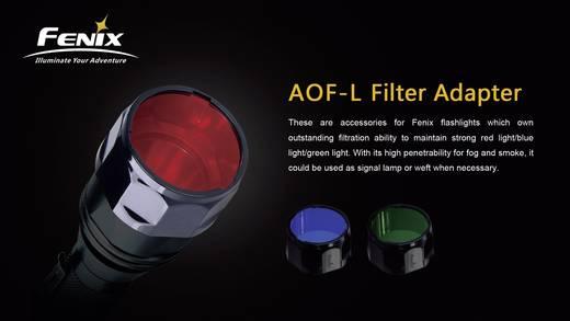 Farbfilter Rot Passend für (Details): Fenix E40, Fenix E50, Fenix TK22, Fenix RC15, Fenix LD41 Fenix FENAOFLR