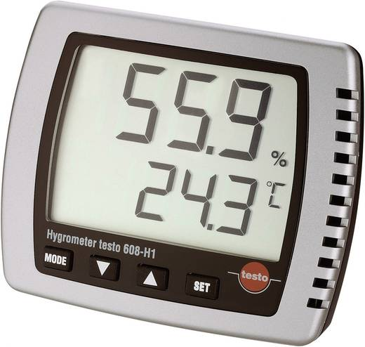 Luftfeuchtemessgerät (Hygrometer) testo 608-H1 10 % rF 98 % rF Kalibriert nach: ISO
