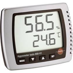 Vlhkomer vzduchu (hygrometer) testo 608-H1, 10 % rF 0560 6081-ISO, Kalibrované podľa (ISO)