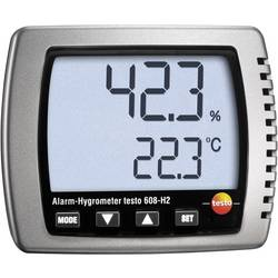 Vlhkomer vzduchu (hygrometer) testo 608-H2, 2 % rF 0560 6082-D, Kalibrované podľa (DAkkS)