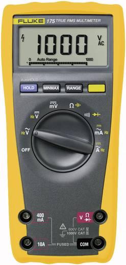 Hand-Multimeter digital Fluke 175 Kalibriert nach: Werksstandard (ohne Zertifikat) CAT III 1000 V, CAT IV 600 V Anzeige
