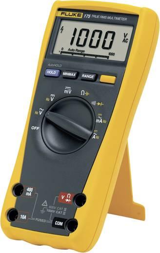 Hand-Multimeter digital Fluke 175 Kalibriert nach: DAkkS CAT III 1000 V, CAT IV 600 V Anzeige (Counts): 6000