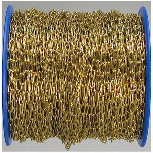 Uhrkette Messing (poliert) Stahl dörner + helmer 152348 75 m