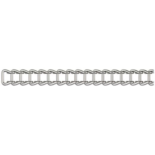 Bandkette Nickel Stahl vernickelt dörner + helmer 152641 20 m