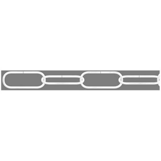 Zierkette Weiß Stahl vernickelt dörner + helmer 153174 20 m