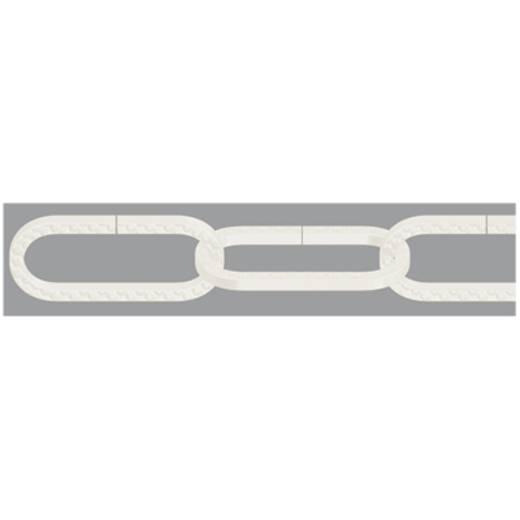 Zierkette Weiß Stahl dörner + helmer 153607 20 m