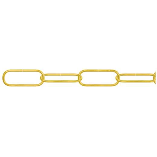 Zierkette Messing (poliert) Stahl dörner + helmer 153720 40 m