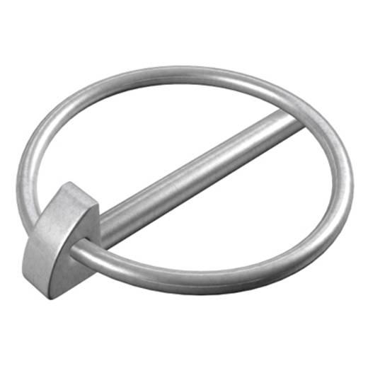 dörner + helmer Klappsplint N/A (Ø x L) 8 mm x 42 mm Stahl galvanisch verzinkt 50 St.