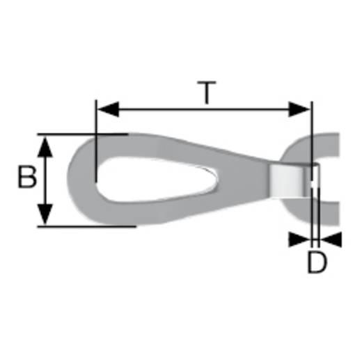 Patentkette Messing Messing dörner + helmer 158183 15 m