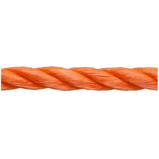 Polypropylenseil geflochten (Ø x L) 12 mm x 50 m dörner + helmer 190024 Orange