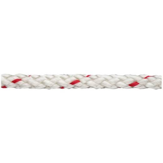 Polypropylenschotleine geflochten (Ø x L) 8 mm x 150 m dörner + helmer 190027 Rot, Weiß