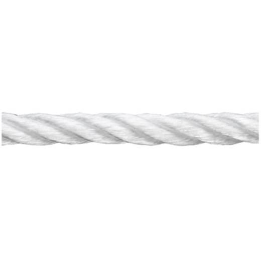 Polypropylenseil gedreht (Ø x L) 8 mm x 120 m dörner + helmer 190063 Weiß