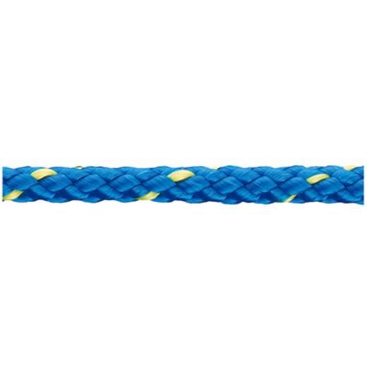 Polypropylenschotleine geflochten (Ø x L) 6 mm x 200 m dörner + helmer 190085 Blau, Gelb
