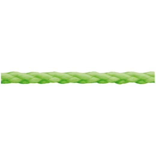 Polypropylenschnur geflochten (Ø x L) 3 mm x 140 m dörner + helmer 190151 Grün (fluoreszierend)