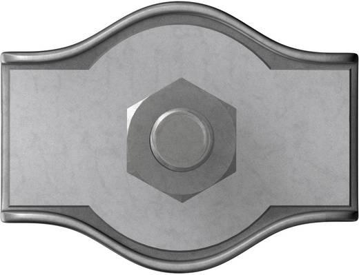 Seilklemme 2 mm Stahl galvanisch verzinkt dörner + helmer 4814384 20 St.